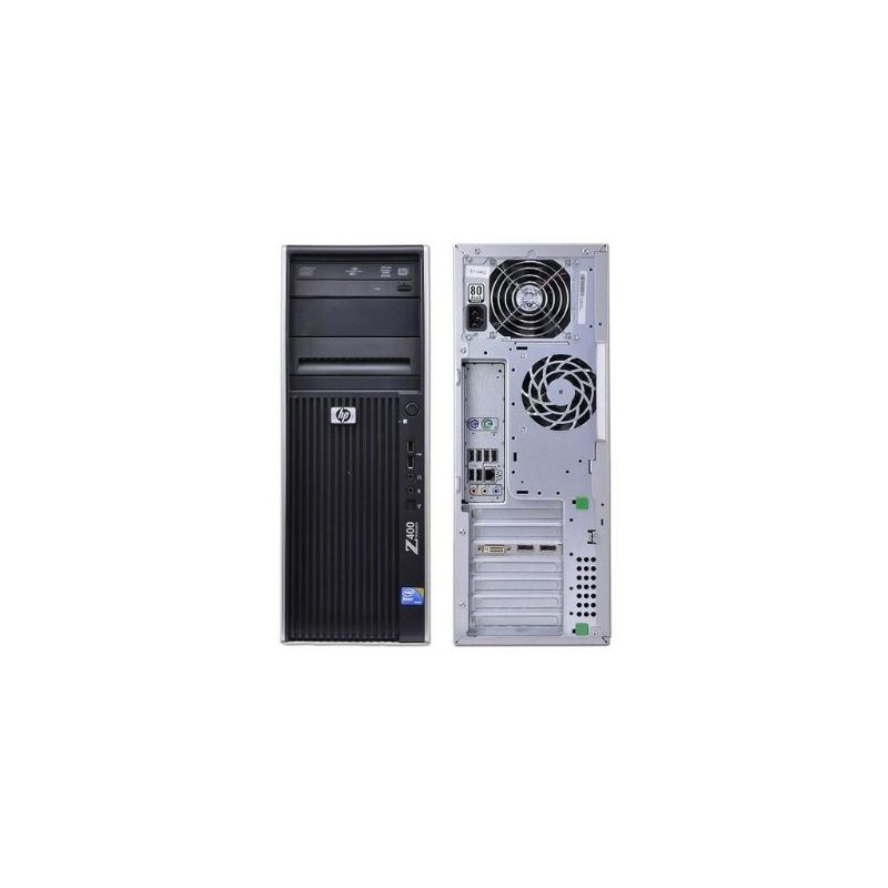 Ordinateur de travail d'occasionHP Z400 Workstation Grade B - ordinateur occasion